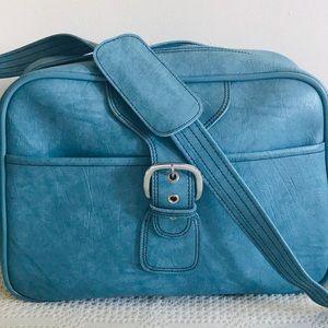 Vintage Blue Travel Bag